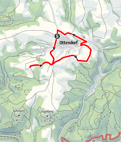 Karte / Ottendorfer Rundweg
