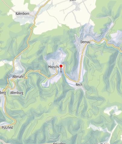 Karte / Schutzhütte Saffenburg