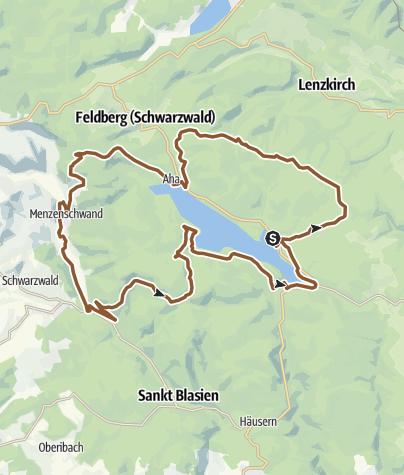 Karte / Faszination Schluchsee