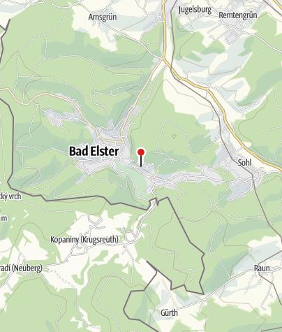 """Karte / Vitalhotel """"Weisse Elster"""""""