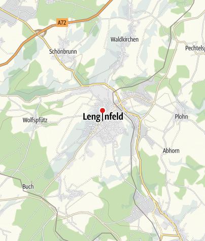 """Karte / Hotel """"Lengenfelder Hof"""""""