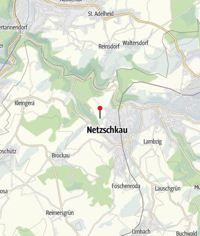 """Karte / AWO-Schullandheim """"Schönsicht"""" Netzschkau"""