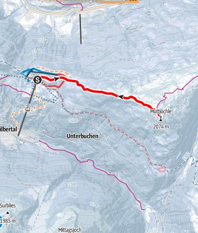 Map / Zum Muttjöchle