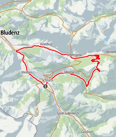 Map / Sonnenkopf Tour