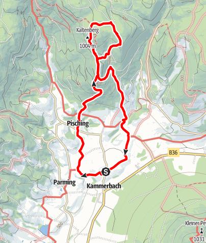 Map / Druidenweg - Peilsteinblick