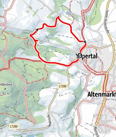 Map / Waldlehrpfad - Yspertal