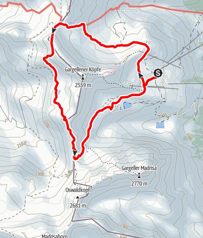 Karte / Der Schmugglerpfad - Über die Grenzen gehen