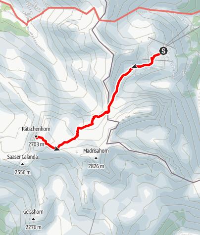 Map / Rätschenhorn