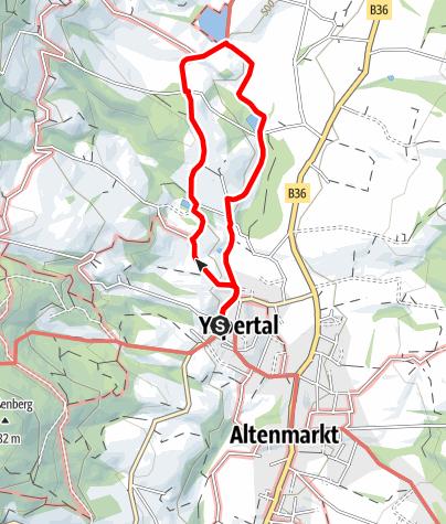 Mapa / 3-Teiche-Weg