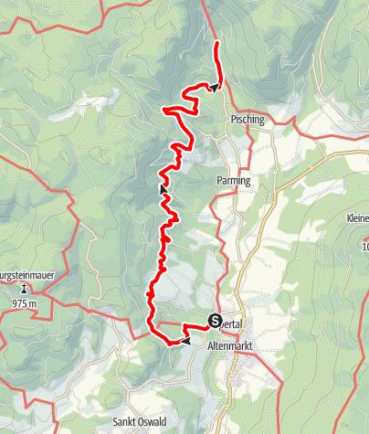 Map / Panoramaweg Yspertal