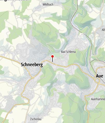 """Karte / E-Bike Verleih: Kurhotel """"Bad Schlema"""""""