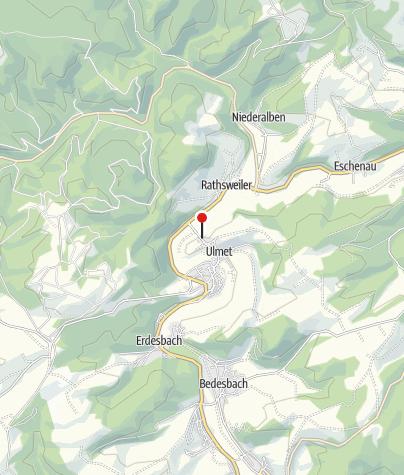 Karte / Flurskapelle Ulmet