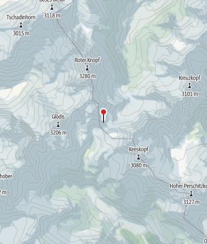 Kaart / Gössnitzkopf-Biwak