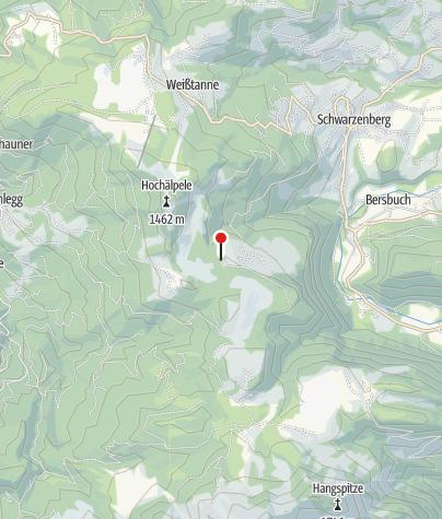 Kaart / Lustenauer Hütte