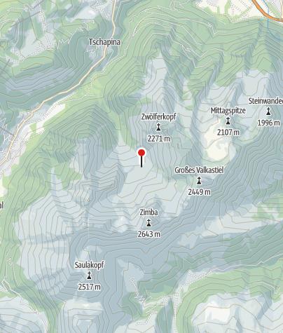 Kaart / Sarotlahütte