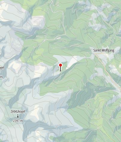 Map / Zirbenwaldhütte