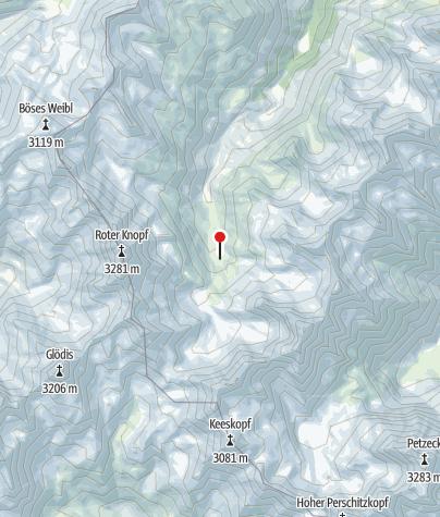 Kaart / Elberfelder Hütte