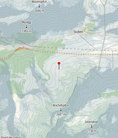 Kaart / Kaltenberghütte
