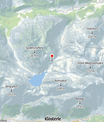 Karte / Ravensburger Hütte