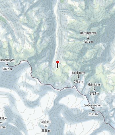 Map / Tübinger Hütte