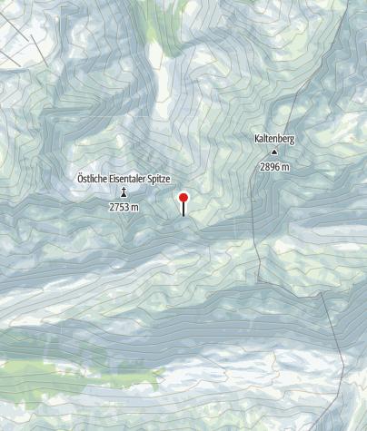 Map / Neue Reutlinger Hütte