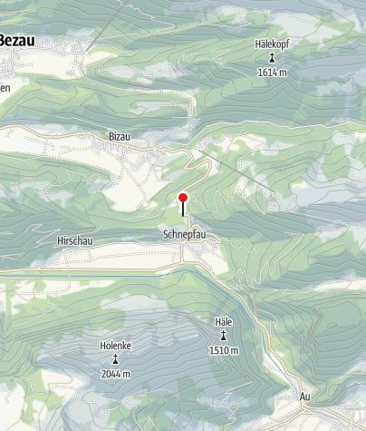 Karte / Schnepfegg Selbstversorgerhütte