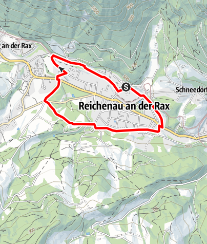 Map / Reichenauer Laufstrecke