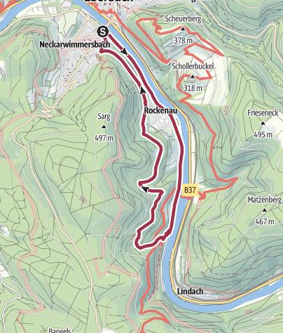 Karte / Stolzeneck-Tour - Die Erhabene