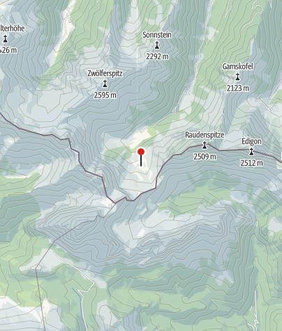 Map / Hochweißsteinhaus