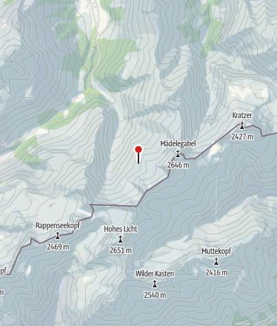 Map / Waltenberger-Haus