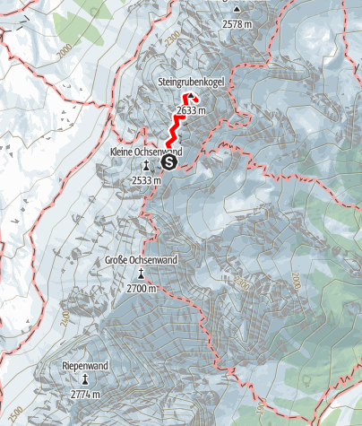 Karte / Steingrubenkogel