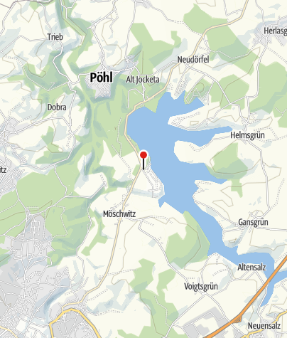 Karte / Tourist-Information Talsperre Pöhl