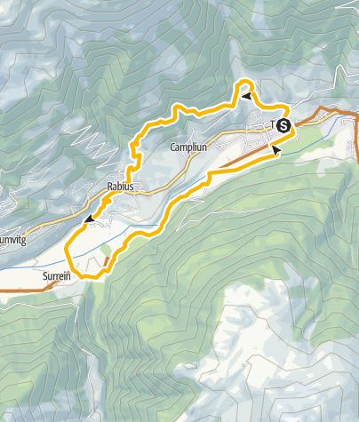 Karte /  Trun  Talrunde