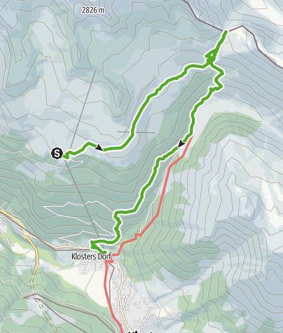 Map / 793 Schlappinerjoch
