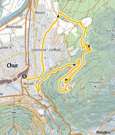 Map / Mittenberg round trip