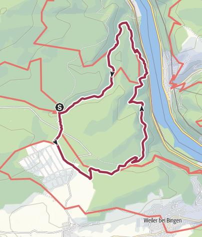 Map / Baumgeister-Tour ACHTUNG! Unwetterschäden!