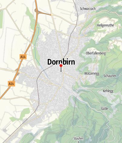 Karte / Stadtpfarrkirche St. Martin