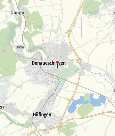 Karte / Donauquelle