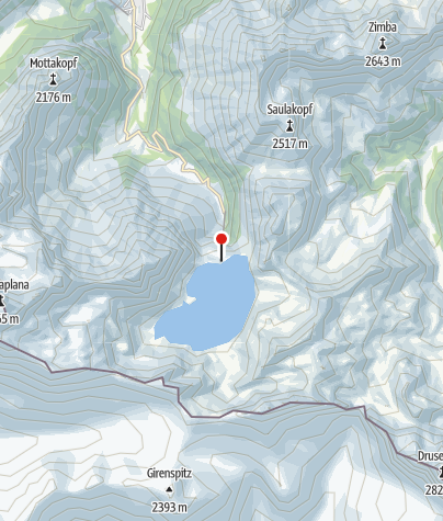 Karte / Douglasshütte