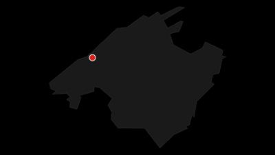 Mapa / En las montañas sobre Valldemossa