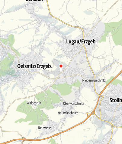 Karte / Bergbaumuseum Oelsnitz