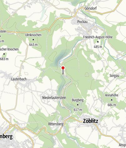 Karte / Kletterwelt Erzgebirge