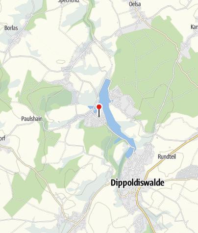 Karte / Camping/Caravaning - Campingplatz Paulsdorf-Malter
