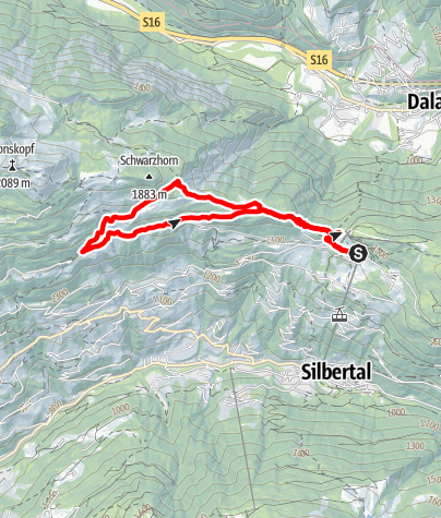Map / Kristberg - Falla