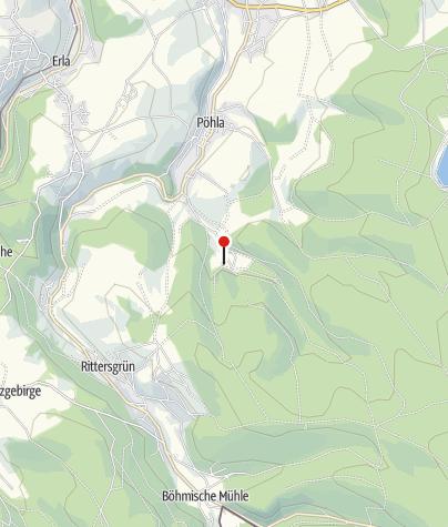 Karte / Besucherbergwerk Zinnkammer Pöhla