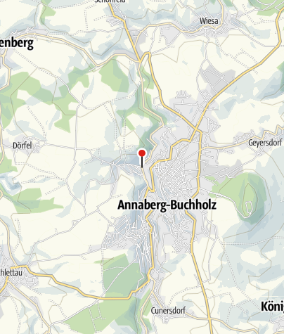 Karte / Langs Erzgebirgshaus