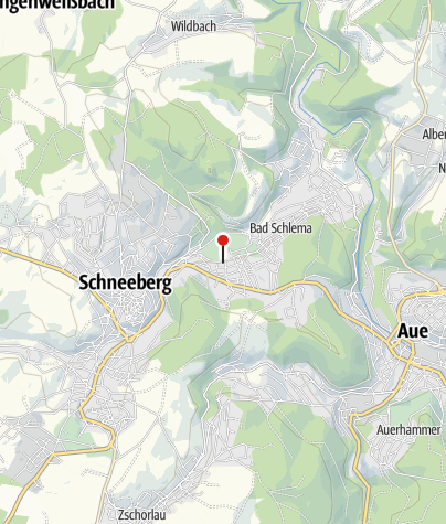Karte / Gästeinformation Bad Schlema