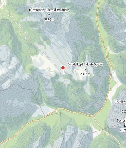 Mappa / Dürrensteinhütte (Rif. Vallandro)