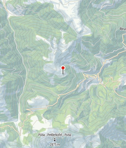 Mapa / Maurerberghütte