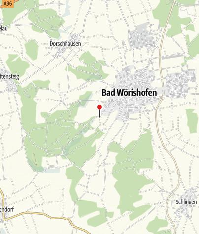 Karte / Parkplatz Hartenthaler Str.
